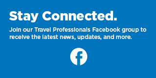 Join our Travel Professionals Facebook group.